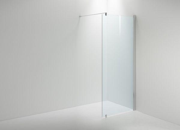 LINC 20 on selkeä ja minimalistinen suora suihkuseinä.