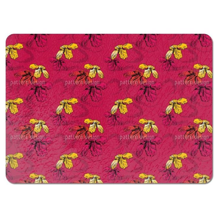 Uneekee Orchid Pink Placemats (Set of 4) (Orchid Pink Placemat) (Polyester)