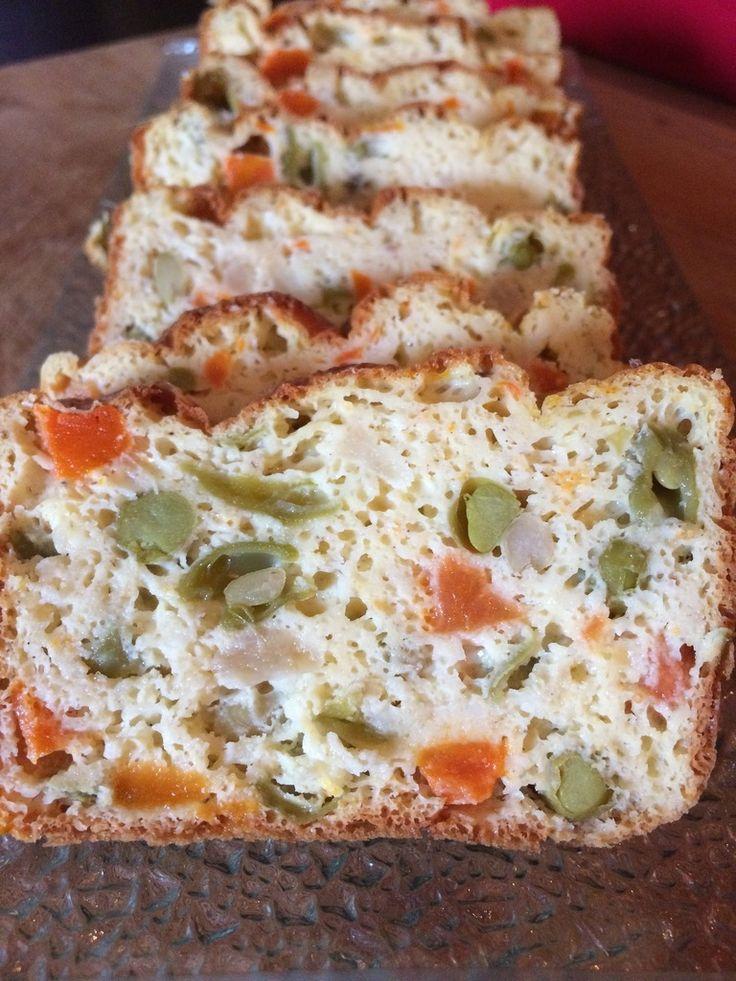 Cake aux légumes de macédoine WW