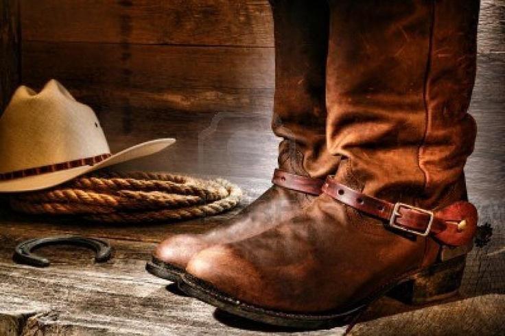 Cowboy boots and hat | Tattoos. | Pinterest | Cowboyer, Støvler og ...