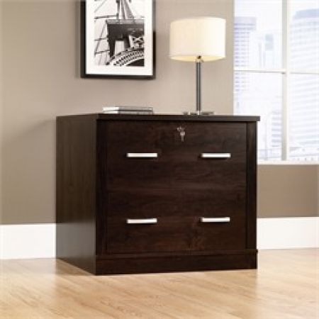 sauder office furniture collections | Sauder Furniture Sauder Office Port File Cabinet Dark Alder