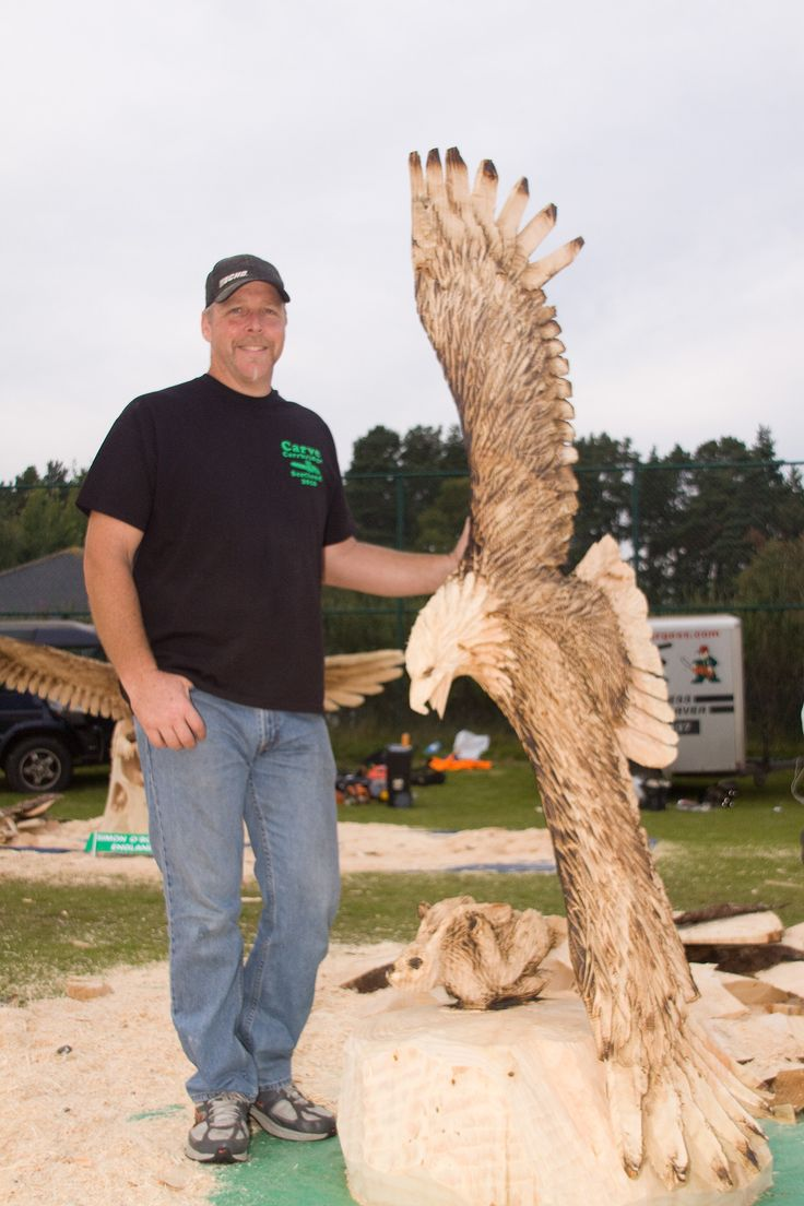 Images about log on pinterest chain saw