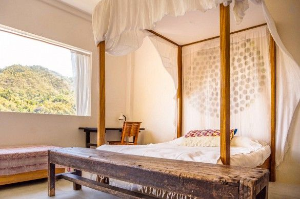 Yalapa, Jalisco, Mexico - Located in the quiet fishing village of Yelapa, this private, petite paradise, only accessible by water taxi, promises to be a full-package retreat. Bonus: The property's co-owner is a gourmet chef and has designed a dream kitchen for guests to use.