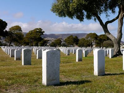 Golden gate national cemetery, San Bruno, California