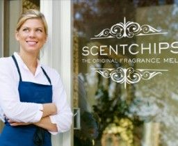 Scentchips is a family owned and operated business that began in 1979 in a quest to create a better candle product. What began as a small endeavor has become a product that is now available all over the world. Our chips can be recognized by the patented leaf and flower shapes still used today.
