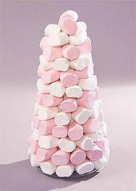 Pour les bonbons addict pyramide de marshmallows! - http://ift.tt/1HQJd81