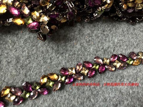 Статья фантазии высокого класса пользовательских DIY цепь ЕТ талию платье украшено свадебные аксессуары для волос ленты для волос браслета материала