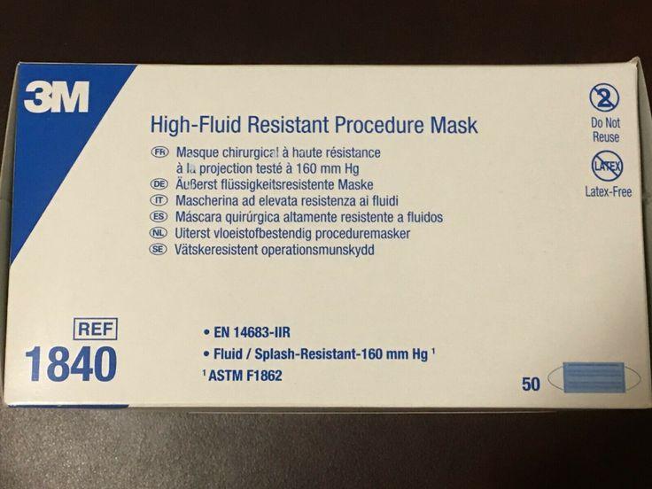 3m 1840 procedure surgical grade face mask astm level 3
