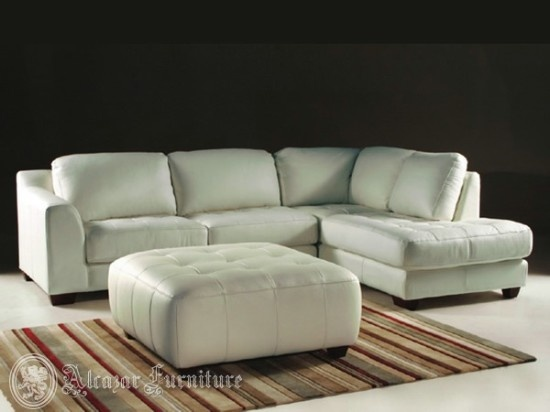 lazio leather sectional sofa white sectional sofa - Sectional Sofas On Sale
