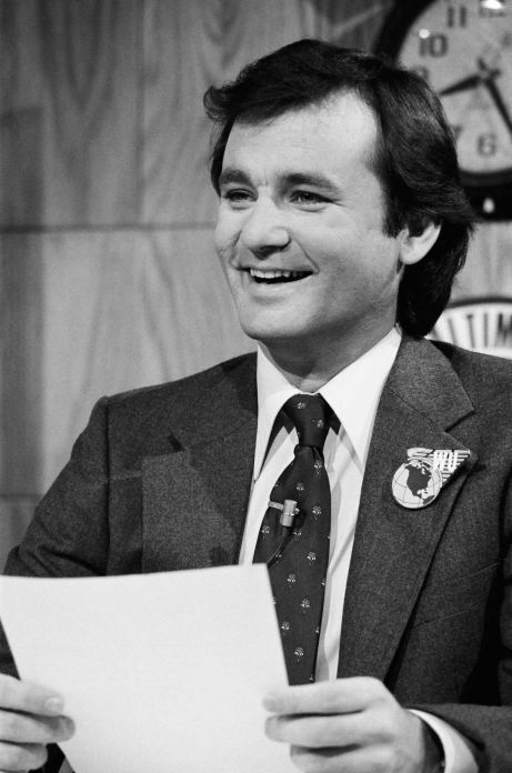 "SATURDAY NIGHT LIVE -- Episode 5 - Bill Murray during ""Weekend Update"" on November 11, 1978  (Photo by Fred Hermansky/NBC/NBCU Photo Bank via Getty Images) Photo: NBC, Contributor / 2012 NBCUniversal, Inc."