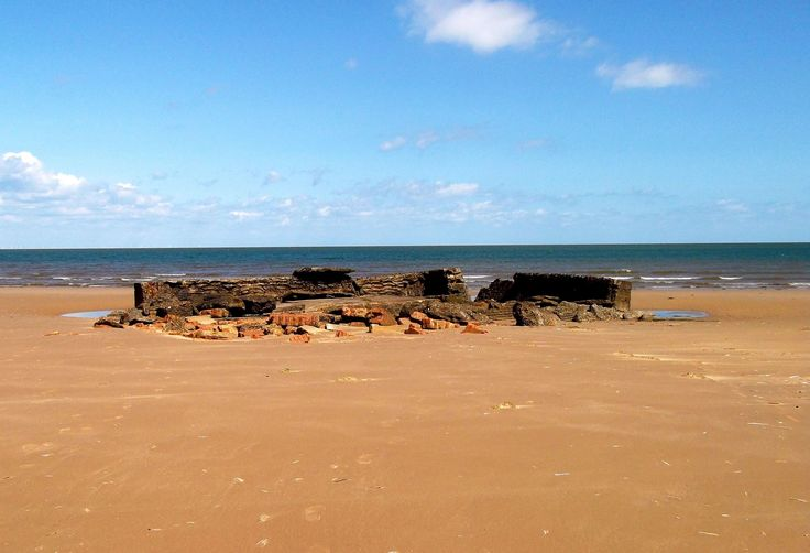 The beach at Titchwell, another of Norfolk's great beaches!