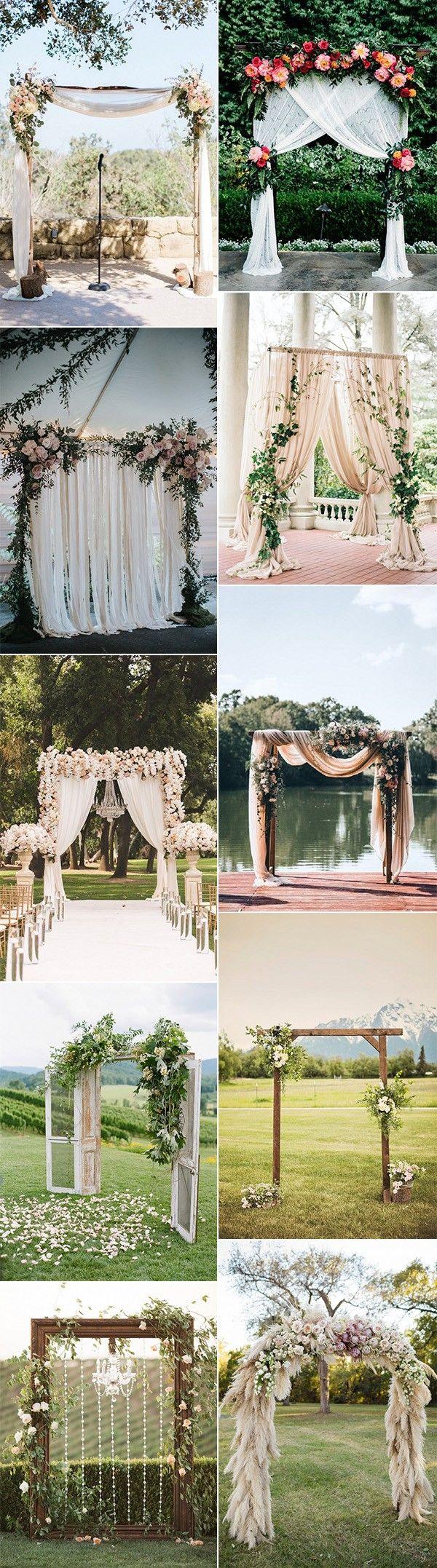 top 10 trending wedding arch decoration ideas