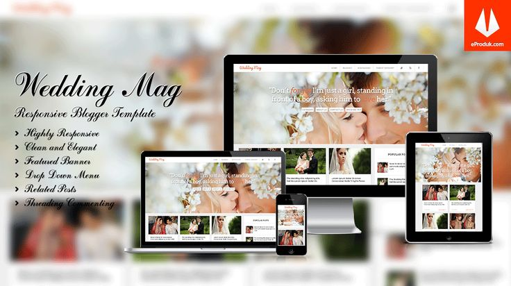 Responsive Blogger Template v3 Wedding Mag is a simple and elegant framework blogger template for wedding niche bloggers ideal and lovely marriage website.