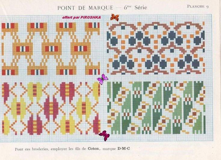 Suite - Ancien Dmc - Point de Marque - 6 eme Série - Albums d'antan