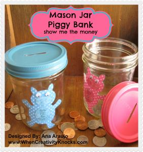 Great free tutorial and free PDF patten do the piggy!