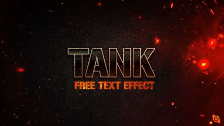 Tank Free Text Effect