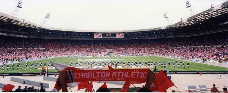Charlton v Sunderland 1998 play off final Wembley