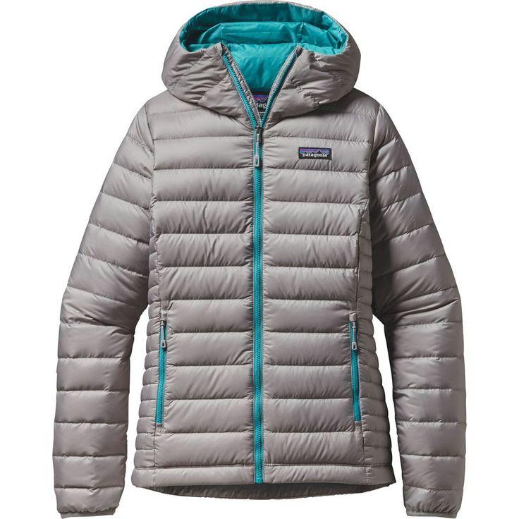 Patagonia - Down Sweater Full-Zip Hooded Jacket - Women's - Drifter Grey