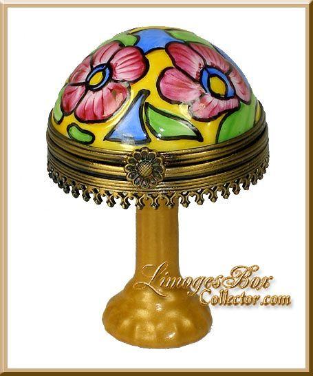 tiffany table lamp limoges box rochard - Tiffany Table Lamps