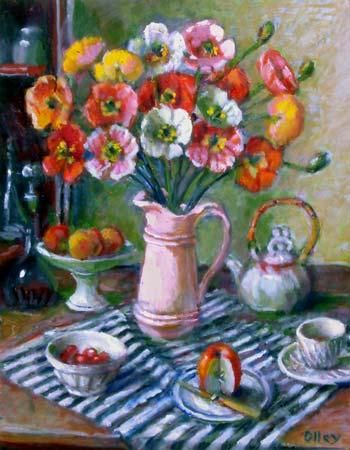 Margaret Olley, Untitled (poppies), c. 2005 ... superb !!