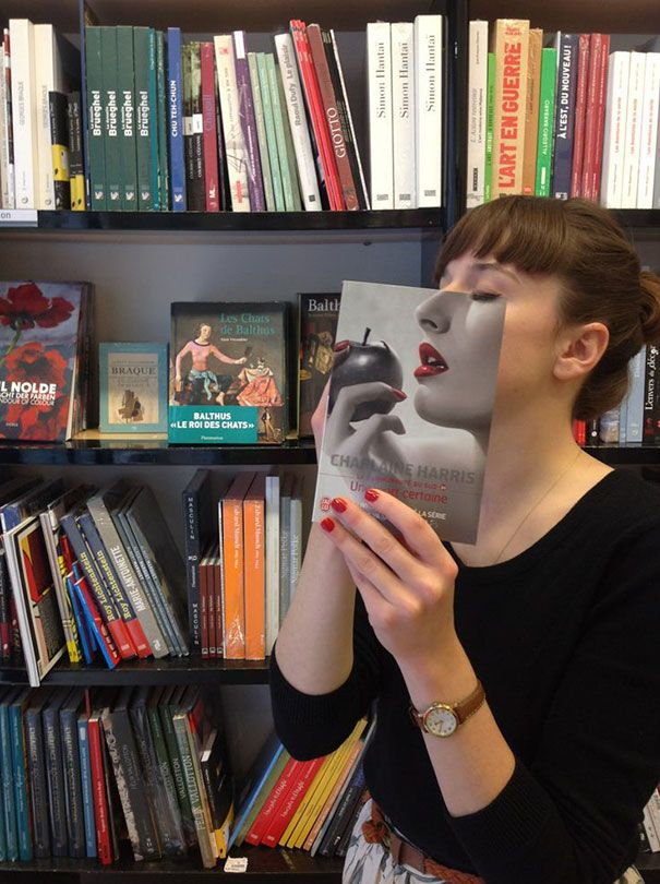 10+ Times Books Caused Serious Illusions | Bored Panda