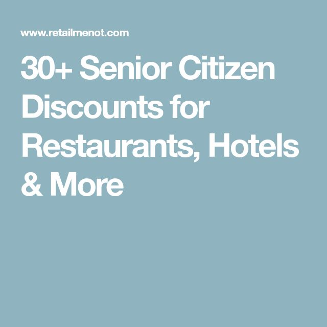 Hyatt offers senior guests age 62 and older discounts up to 10 percent. This grocery chain is a regional favorite, and it offers 5 percent discount to customers with a senior citizen discount card. However, that discount is only available on Wednesday with restrictions. Photo credit: James R. Martin/shutterstock. IHOP. No need for a.