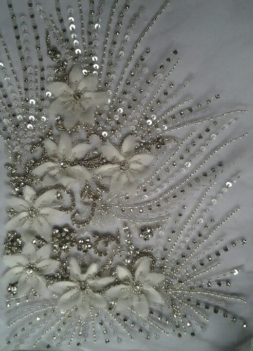 Embroidery...Beautiful embellishments to consider. Ask your dressmaker for…