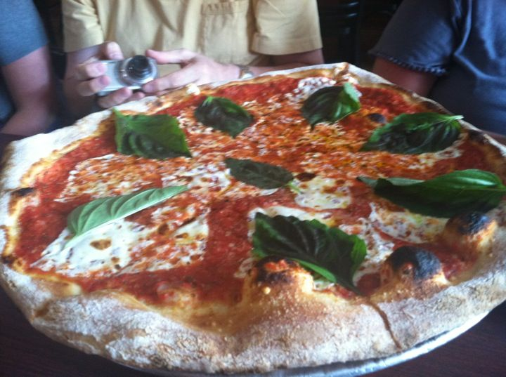 Coalfire Pizza. My favorite place for thin crust pizza in Chicago. West Town neighborhood.