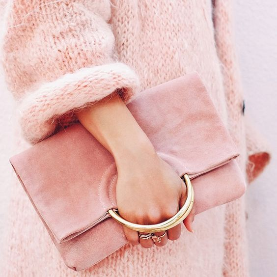 #pink #clutch