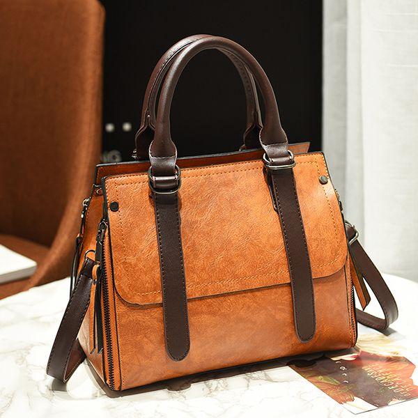 8ee39c579f7e Hot-sale designer Women Vintage PU Leather Handbag Formal Crossbody Bag  Online - NewChic Mobile
