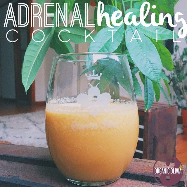 Thanks to @gingernewtrition on Instagram, I have been indulging in one of these adrenal healing 'creamsicles' every morning and loving it. What are our adrenals? Our tiny adrenal glands…