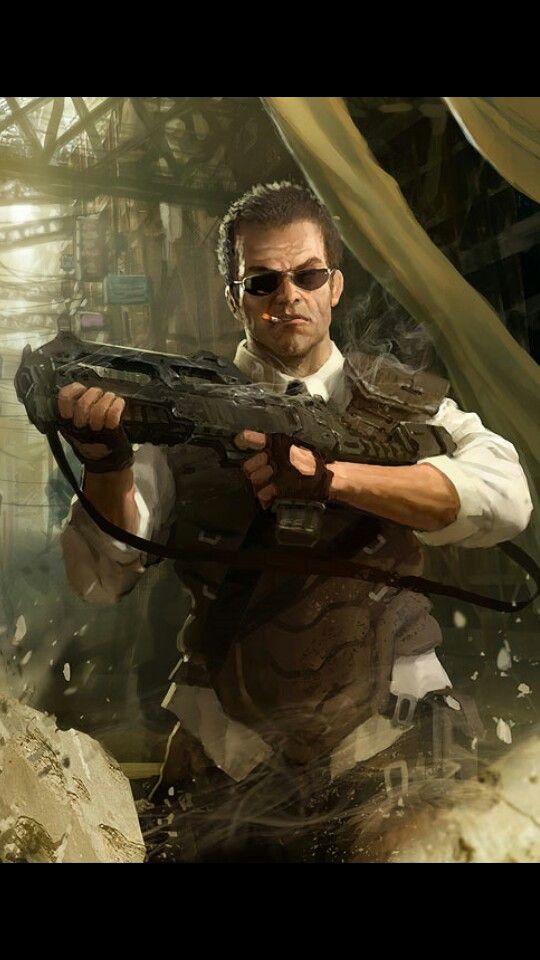 "shadowrun; male; human; law-enforcement (used as ""Carl Summers"")"