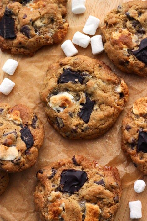 Scientifically Sweet: Gooey S'mores Cookies