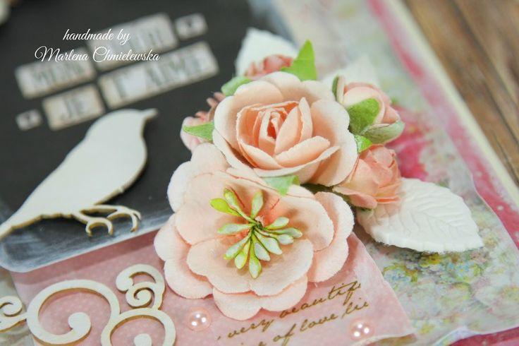 Crafts by Marlene: Kartka z miłosnym wyznaniem