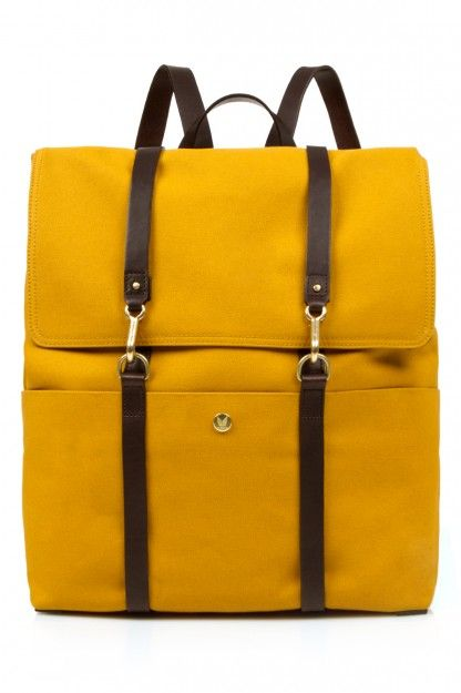 MISMO BACKPACK - CURRY/BROWN - WOMEN - JUST IN ($200-500) - Svpply