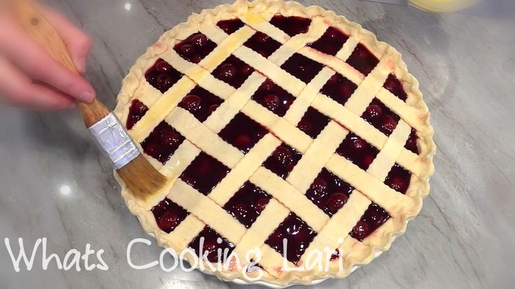 How to Make Cherry Pie  Recipe - Вишнёвый Пирог. https://youtu.be/bnG470Qxyz0