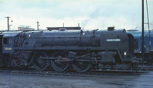 70040 Carlisle Kingmoor MPD 19.5.67 | George Woods | Flickr