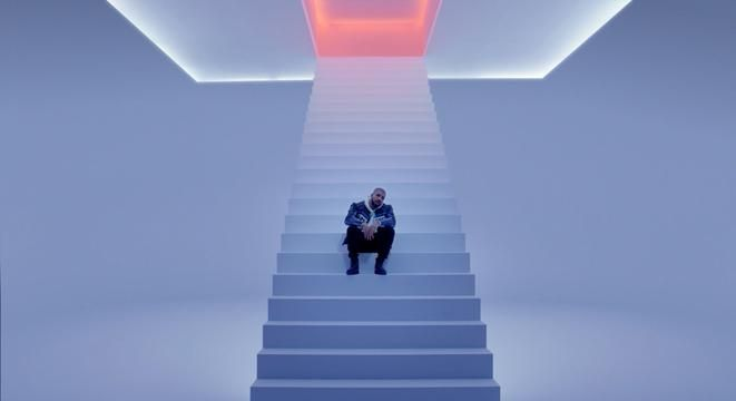 "Everyone's been all about Drake's song ""Hotline Bling"" lately… and now the video is here. Premiering on Apple Music on Monday night, the video is full of salacious phone calls and silly Drake dancing. We're pretty sure the whole thing was shot in a James Turrell exhibit, too."
