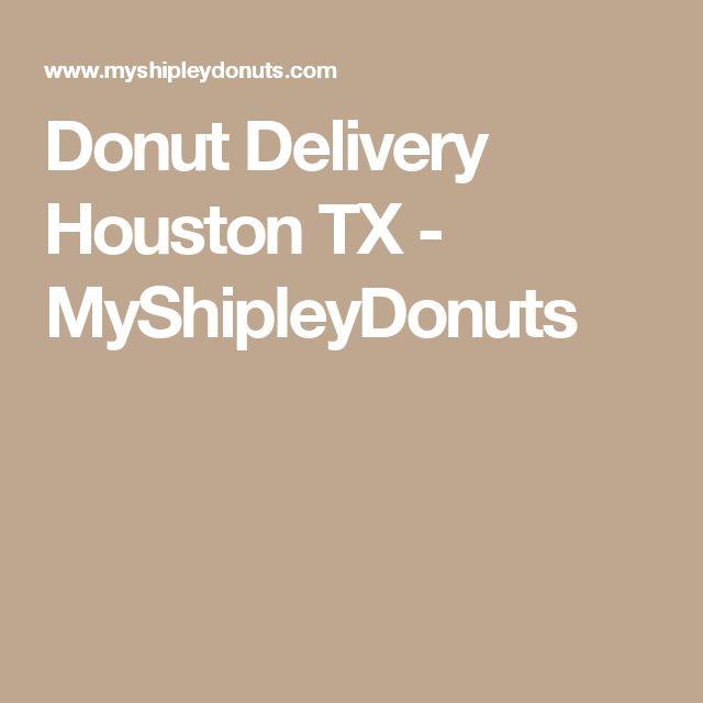Donut Delivery Houston TX - MyShipleyDonuts