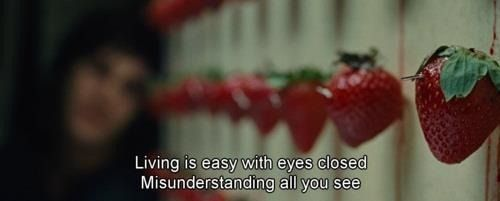 Across the Universe - Strawberry Scene