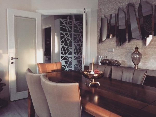 Ahşap, Ayna, Salon, Yemek Odası