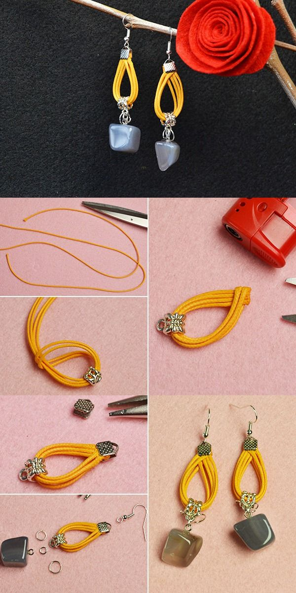 Learn How To Make Earrings From Beebeecraft How To Make