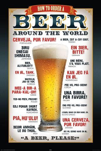 Come chiedere una birra nel mondo (per non restare mai assetati!)