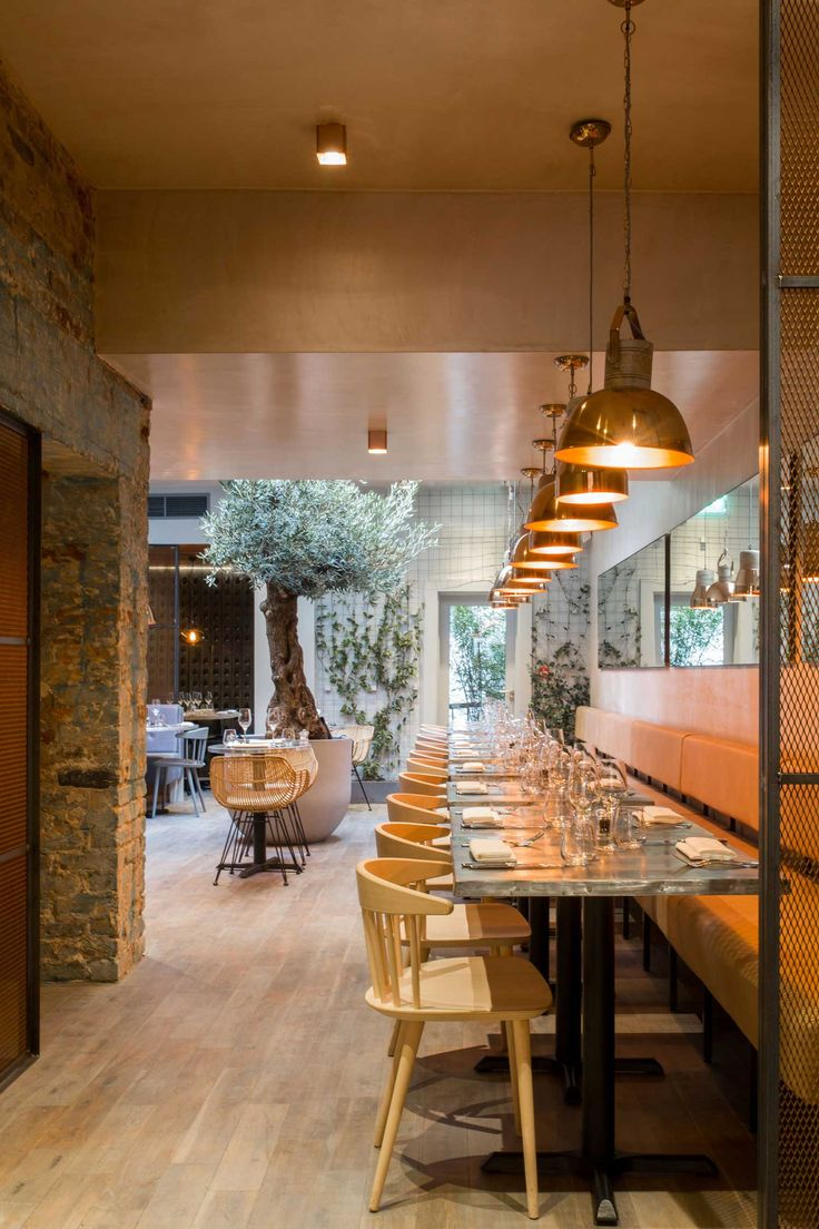 Bandol Bar Restaurant By Kinnersley Kent Design