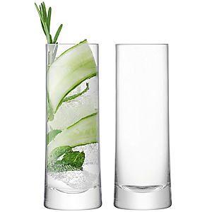 LSA International Set of 2 Gin Highball Glasses #kaleidoscope #home