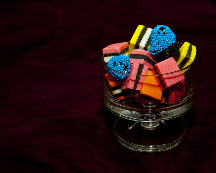 Licorice Allsorts - my favourite, well that is next to chocolate and bourbon!
