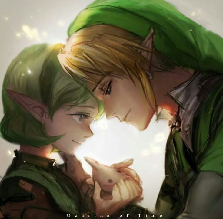 OoT I love this picture. It's so beautiful and sweet.