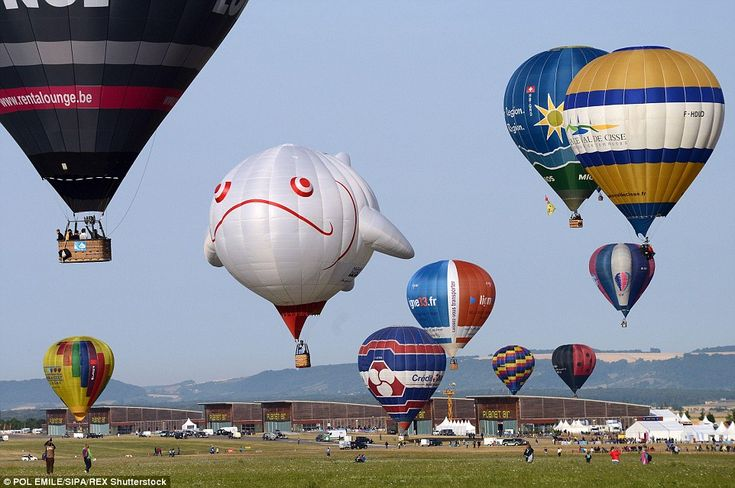 Previous attempts have had to be called off due to bad weather, but balloonist enjoyed ide...