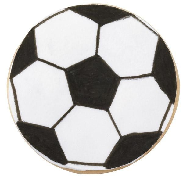 Best 25+ Soccer cookies ideas on Pinterest Decorating supplies - foot ball square template