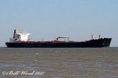 Seakay Spirit Crude Oil Tanker Wilmington DE c Galveston 09/07/2017